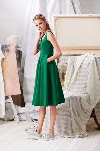 Machka 2015 Spring Summer Collection 12 - Green Summer Dress