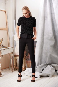 Machka 2015 Spring Summer Collection 14 - Black Pants and top