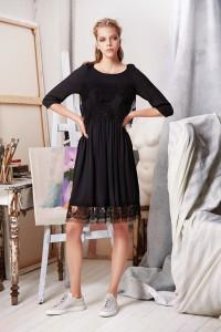 Machka 2015 Spring Summer Collection - Black Dress