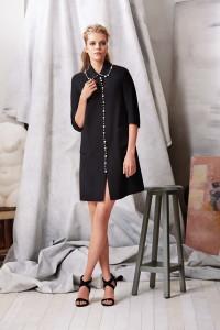 Machka 2015 Spring Summer Collection - Black Mini Dress