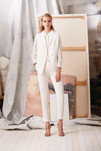 Cream Bussiness Pant and Jacket