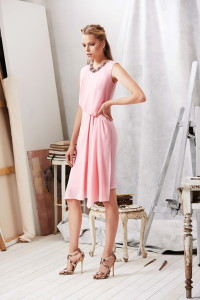 Machka 2015 Spring Summer Collection - Pink Dress