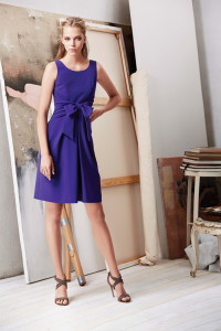 Machka 2015 Spring Summer Collection purple mini dress