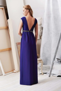 Machka 2015 Spring Summer Collection purple long dress