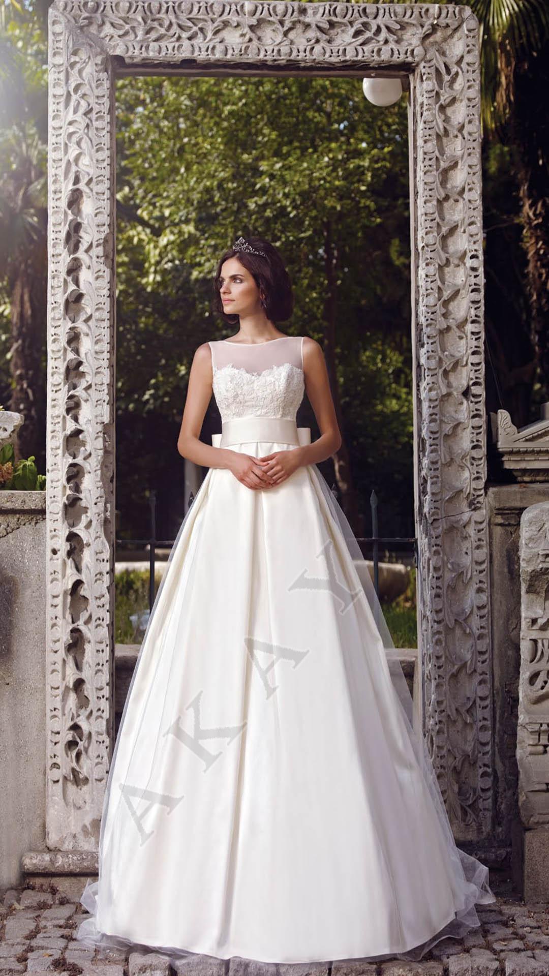 Akay Wedding Dress Private 2015 1090 - Turkish Fashion Style