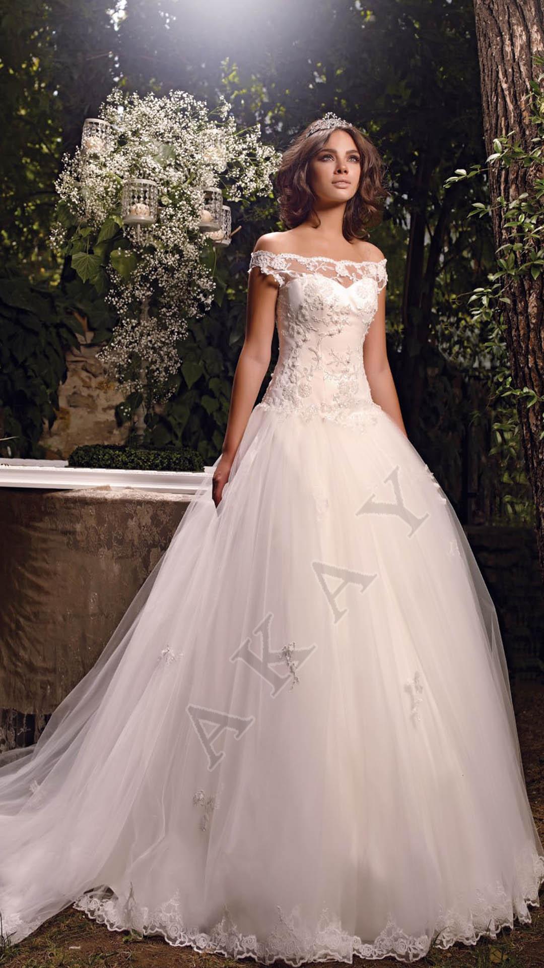Akay Wedding Dress Private 2015 1139 - Turkish Fashion Style