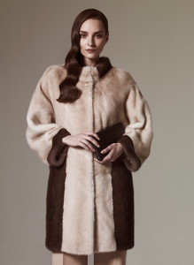 Cream Colored fur for woman