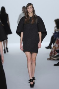 Dice Kayek Spring Summer 2015 Couture Black Mini Dress