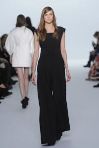 Dice Kayek Spring Summer 2015 Couture Black Overalls