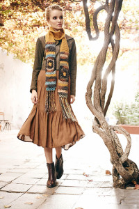 Angels Never Die Light Brown Skirt Knitwear