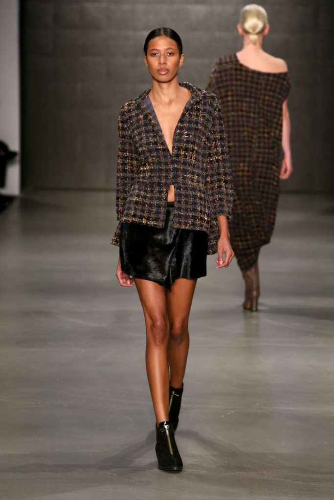 Cigdem Akin 2015-2016 Jacket Black Skirt