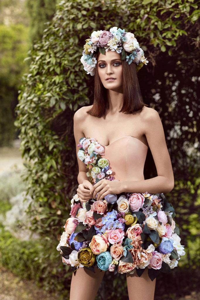 Alchera 2016 Mini Floral Dress