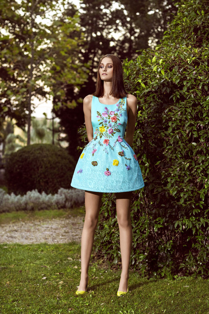 Alchera 2016 Mini Fluffy Dress