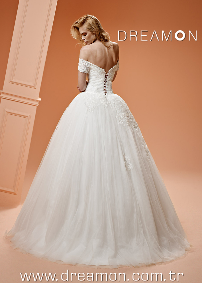 Dreamon Bambi back Wedding Dress 2016