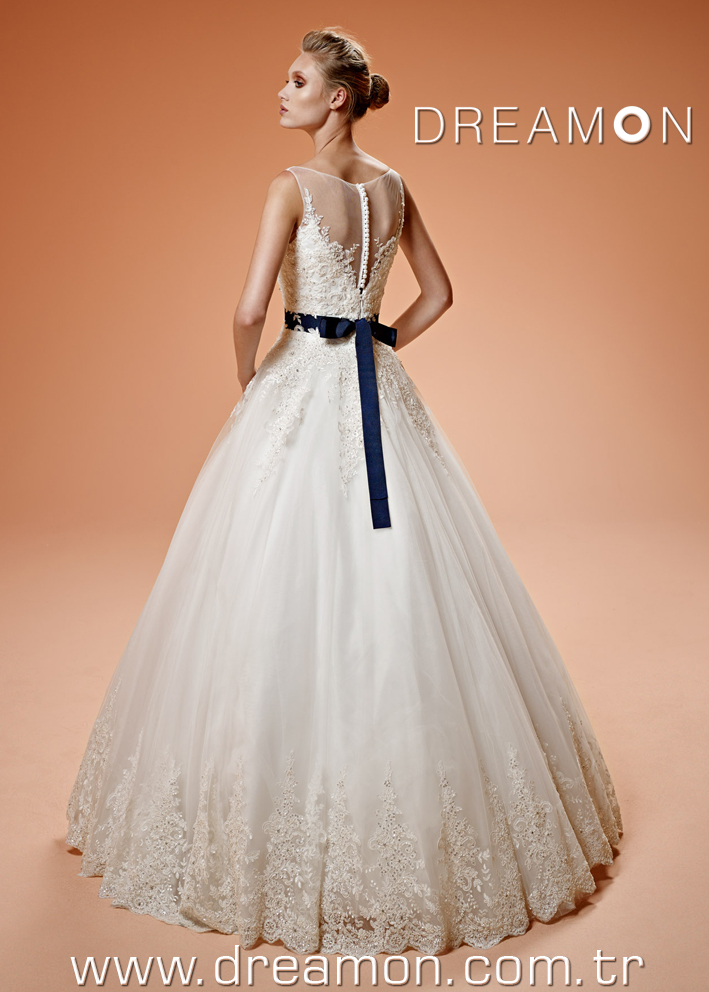 Dreamon Clementine back Wedding Dress 2016