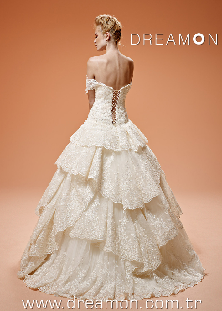 Dreamon Coco Back Wedding Dress 2016