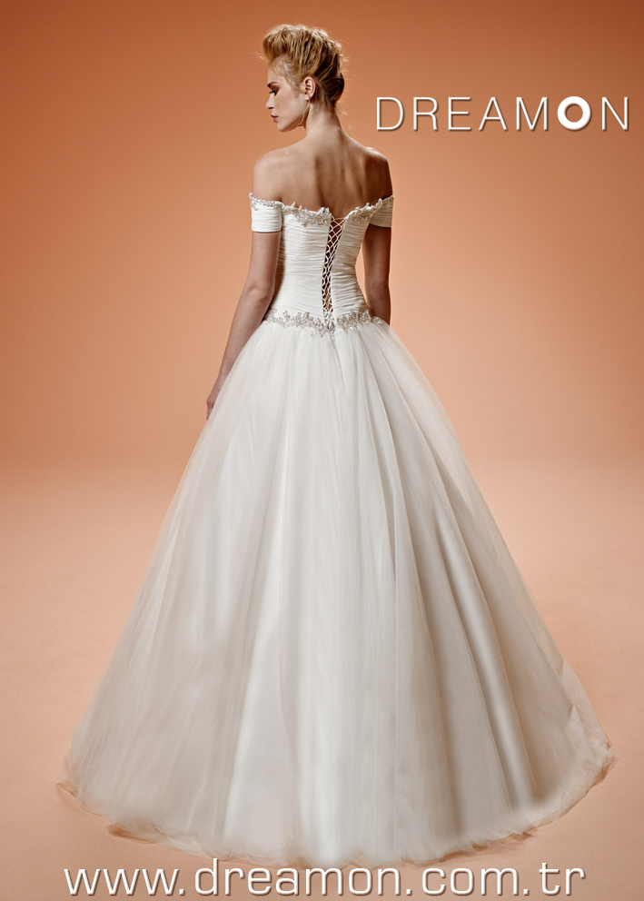 Dreamon Gretel back Wedding Dress 2016