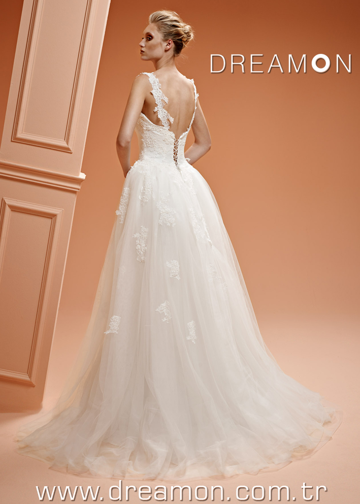 Dreamon Juliet back Wedding Dress 2016