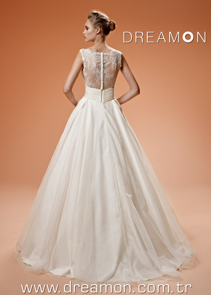 Dreamon Karen back Wedding Dress 2016