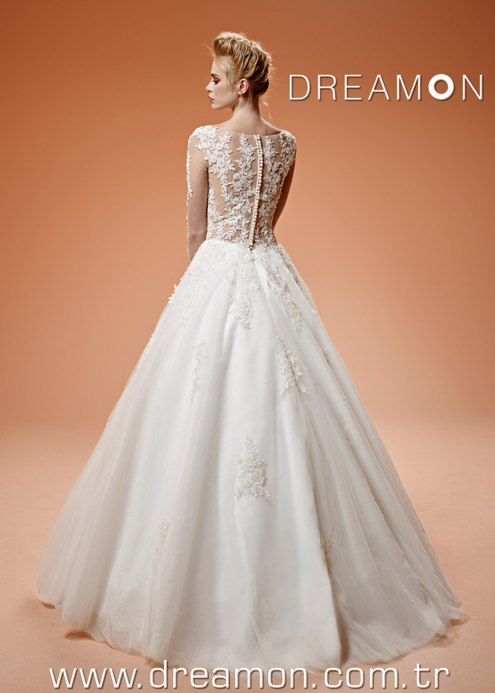 Dreamon Pollyanna back Wedding Dress 2016