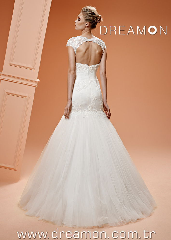 Dreamon Rosetta back Wedding Dress 2016
