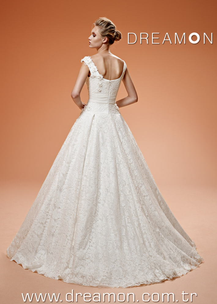 Dreamon Sophie back Wedding Dress 2016