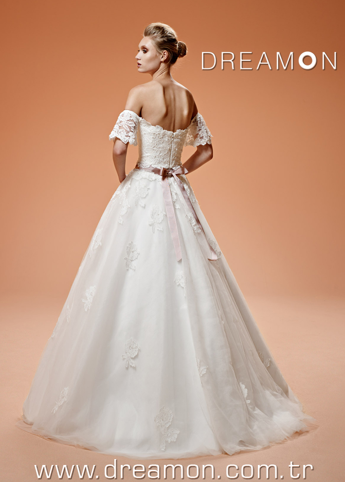 Dreamon Tinkerbell back Wedding Dress 2016