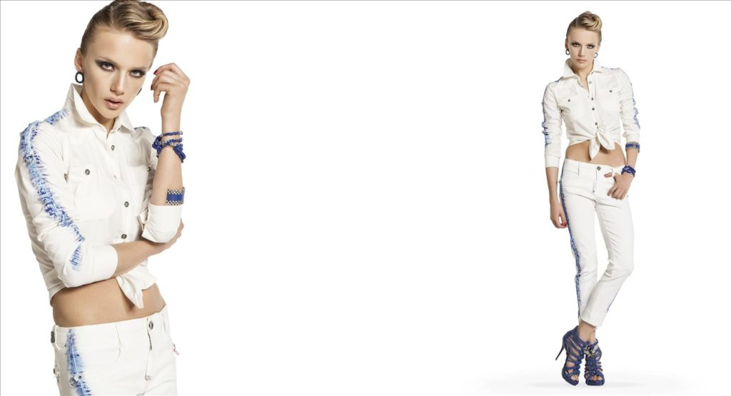 Sassofono SS 2016 White Shirt and Jeans
