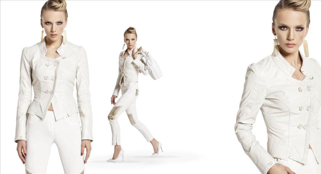 Sassofono SS 2016 White Woman Jacket and Pant